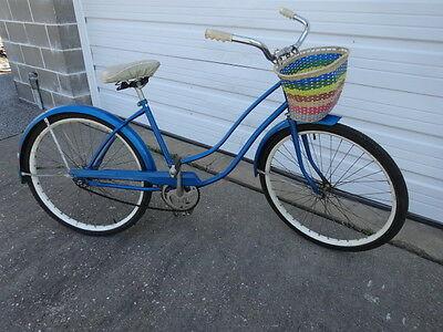 Vintage-1960s-Old-Montgomery-Ward-Hawthorne-Blue-Women-_1